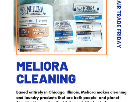 #FairTradeFriday: MELIORA CLEANING PRODUCTS