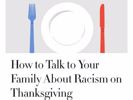 How to Talk To Your Family About Racism