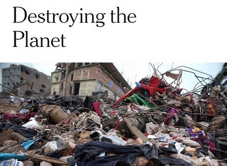 How Fast Fashion Is Destroying the Planet