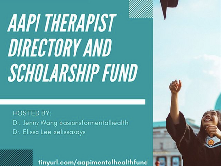Support the AAPI Therapist Directory & Scholarship Fund