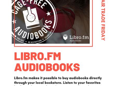 #FairTradeFriday: Libro.fm Audiobooks