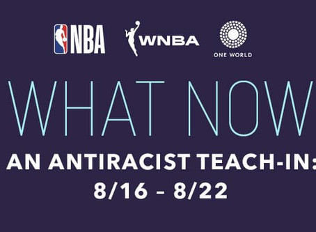 Save The Date for WHAT NOW: AN ANTIRACIST TEACH-IN with Professor Ibram X. Kendi