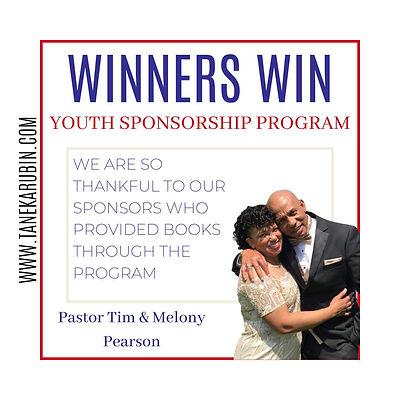 Youth Sponsorship_Pastor Tim and Mel Pea