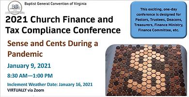 2021 BGC Church Finance & Tax Compliance