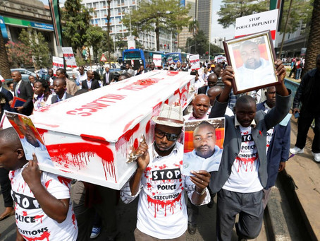 Kenya:Police executing suspects with no evidence