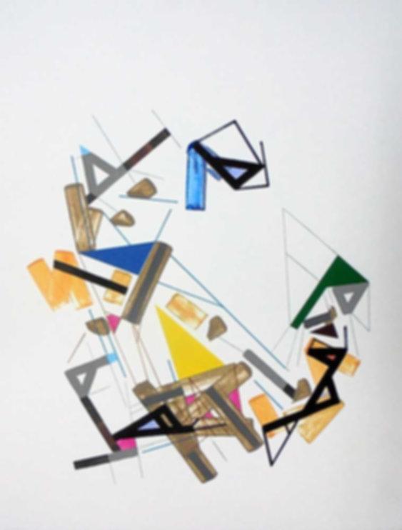 Art on paper Kowwy Ammaruu 5 by Philippe Halaburda