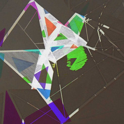 Abstract paper cuts