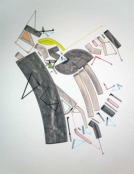 Art on paper Caniis Miror Cassiiop H by Philippe Halaburda