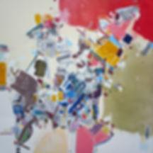 Painting on canvas by Halaburda 2012