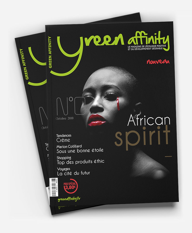 Green Affinity magazine Print Design