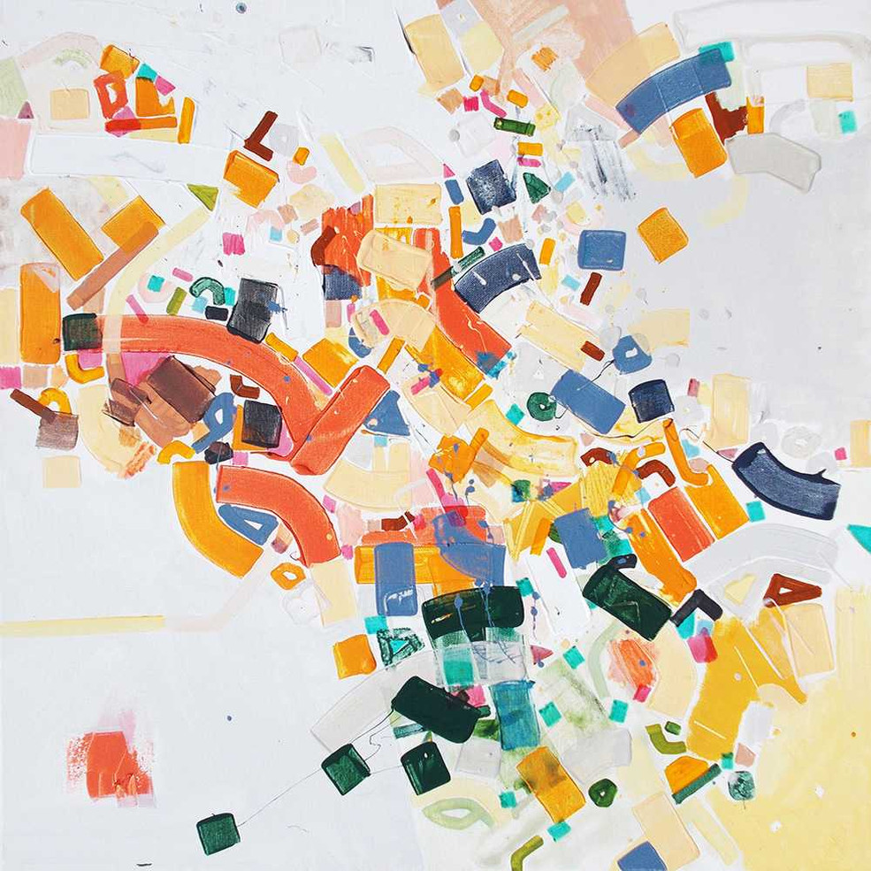 Abstract self-awareness oncanvas by Halaburda