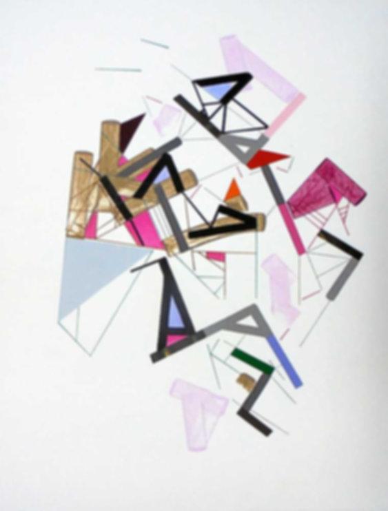 Art on paper Kowwy Ammaruu 10 by Philippe Halaburda