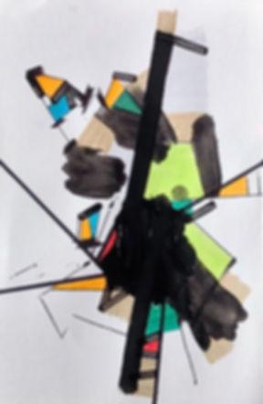 Artwork on paper by Halaburda
