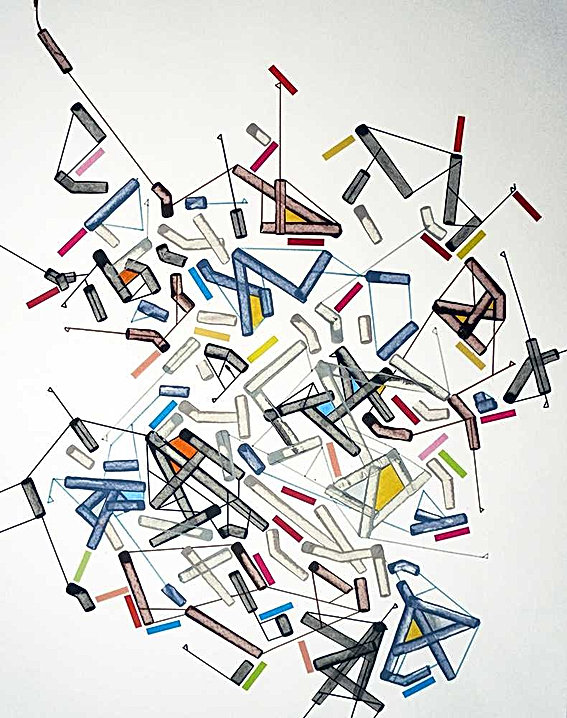 DNA on paper by Halaburda
