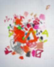 Art on paper by Halaburda