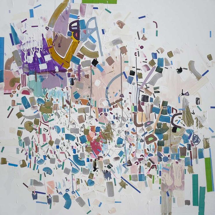 Abstract season oncanvas by Halaburda
