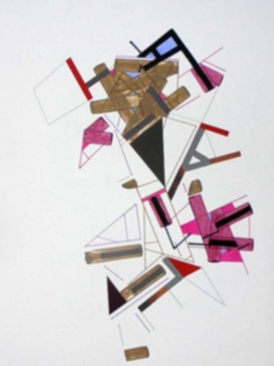 Art on paper Kowwy Ammaruu 6 by Philippe Halaburda