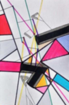 geometric language on paper by Halaburda