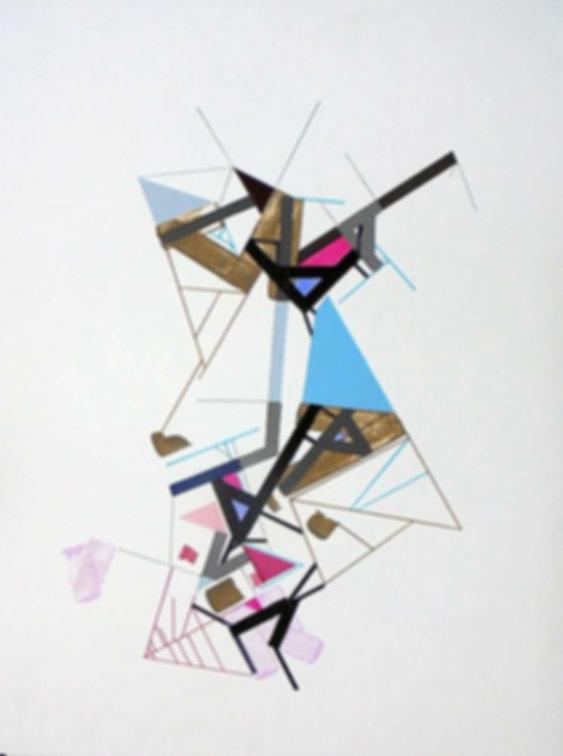 Art on paper Kowwy Ammaruu 4 by Philippe Halaburda
