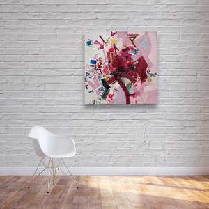 Interior art design for studio
