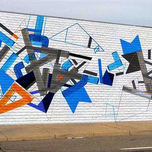 Outdoor mural, NY