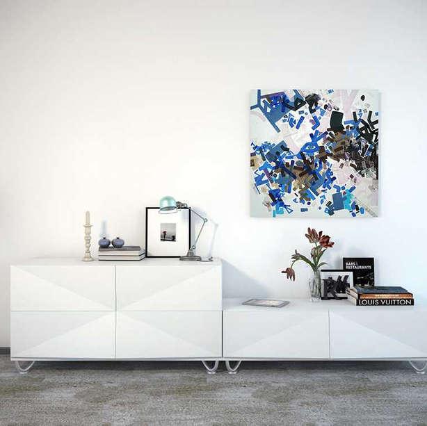 Interior art design for living room