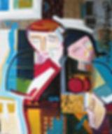 Figurative canvas by Halaburda - 1997