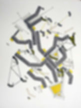 Art on paper Bellegostt 7 by Philippe Halaburda