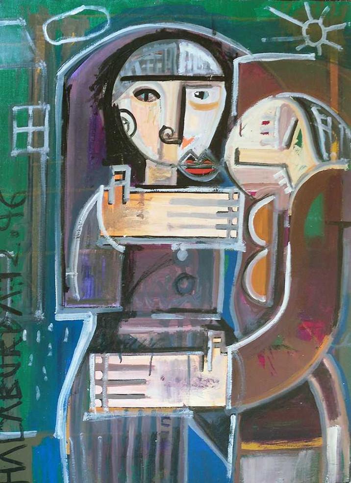 Original painting on canvas by Halaburda