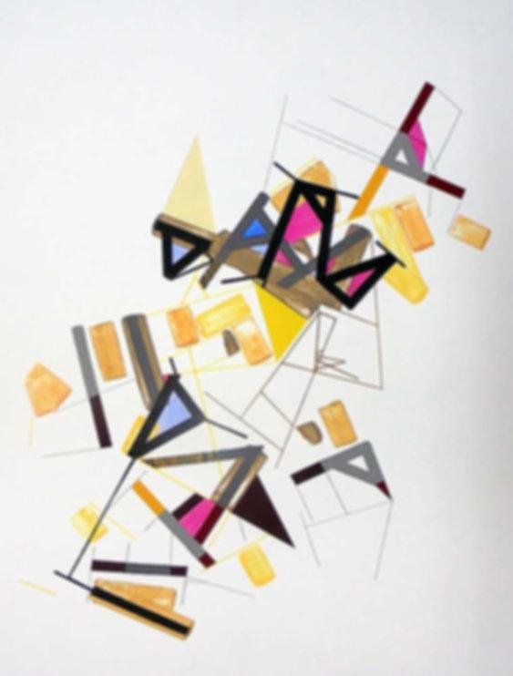 Art on paper Kowwy Ammaruu 7 by Philippe Halaburda