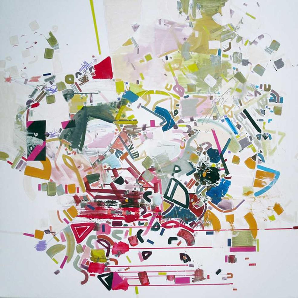 Abstract correlations oncanvas by Halaburda