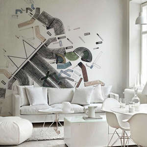 Indoor wall sticker for living room