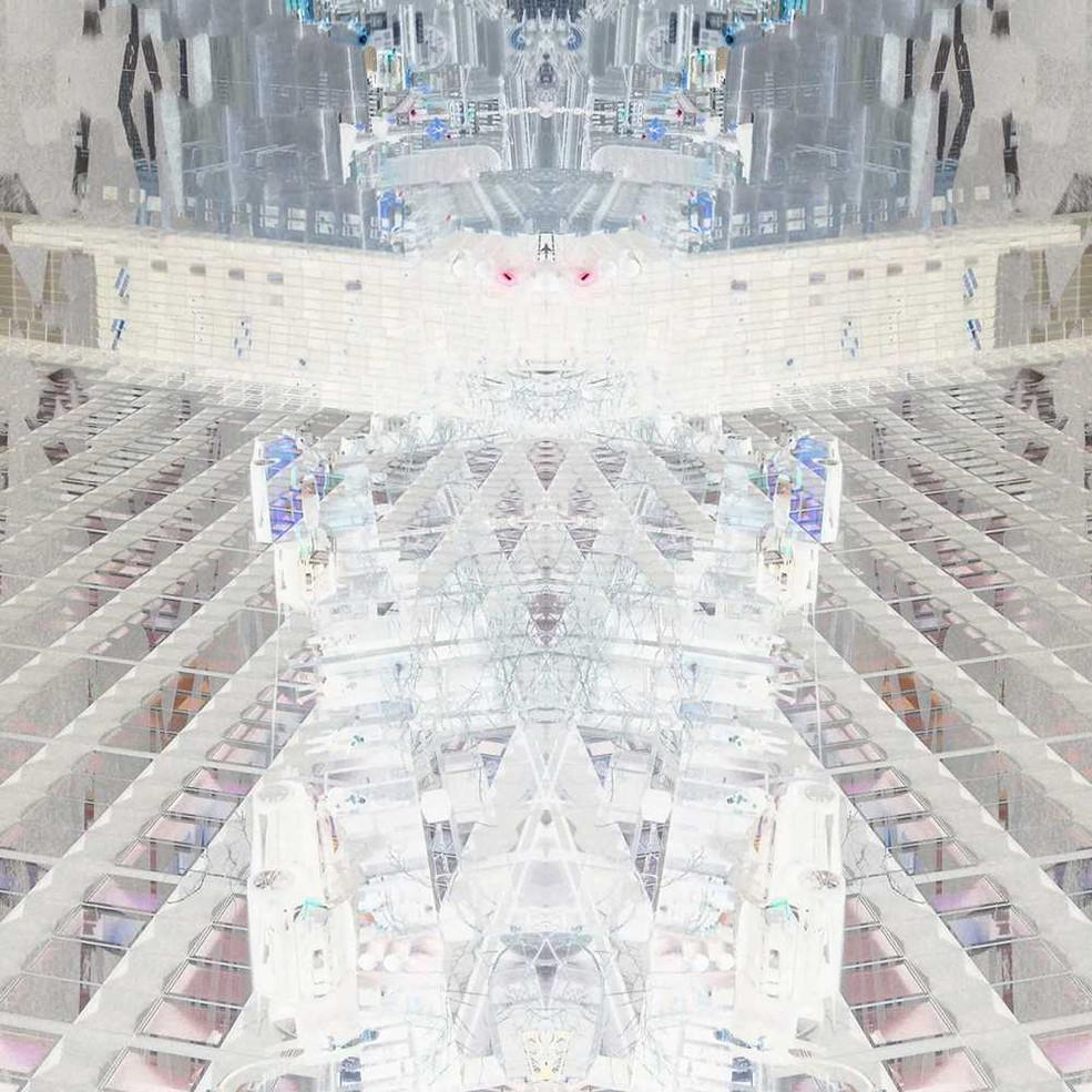 Digital art based on original photos and paintings by Halaburda