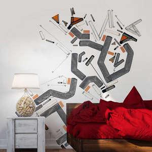 Indoor wall sticker for room