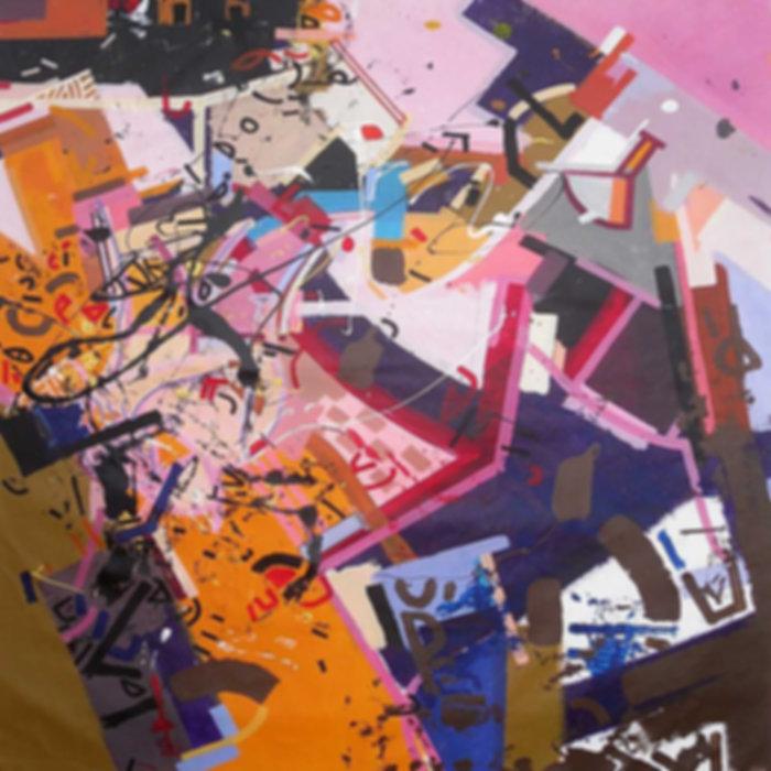 Rug on canvas by Halaburda 2009