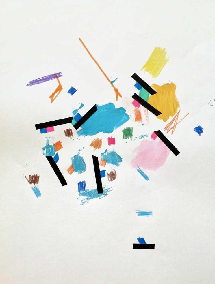 Original artwork on paper by Halaburda