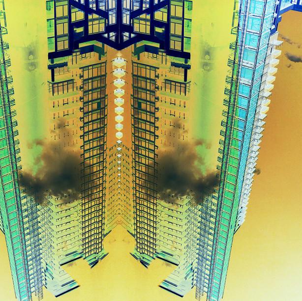 Inverted buildings