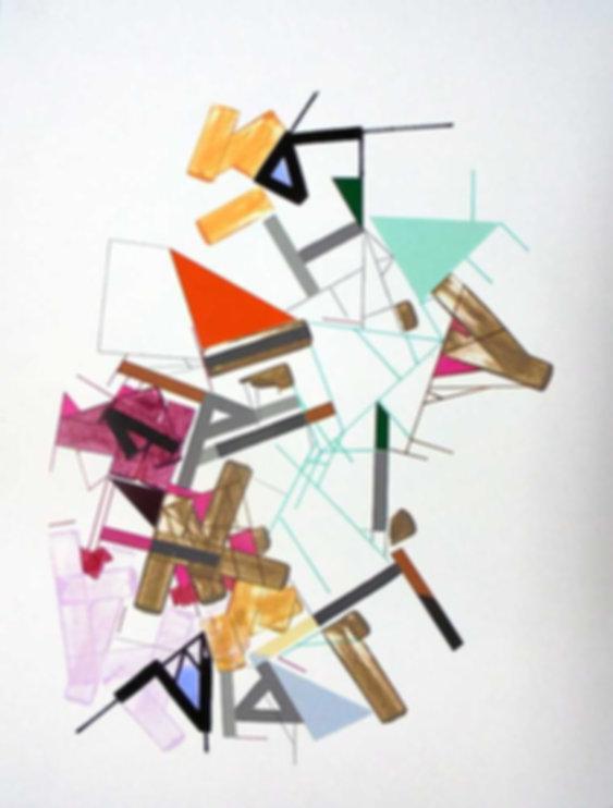 Art on paper Kowwy Ammaruu 9 by Philippe Halaburda