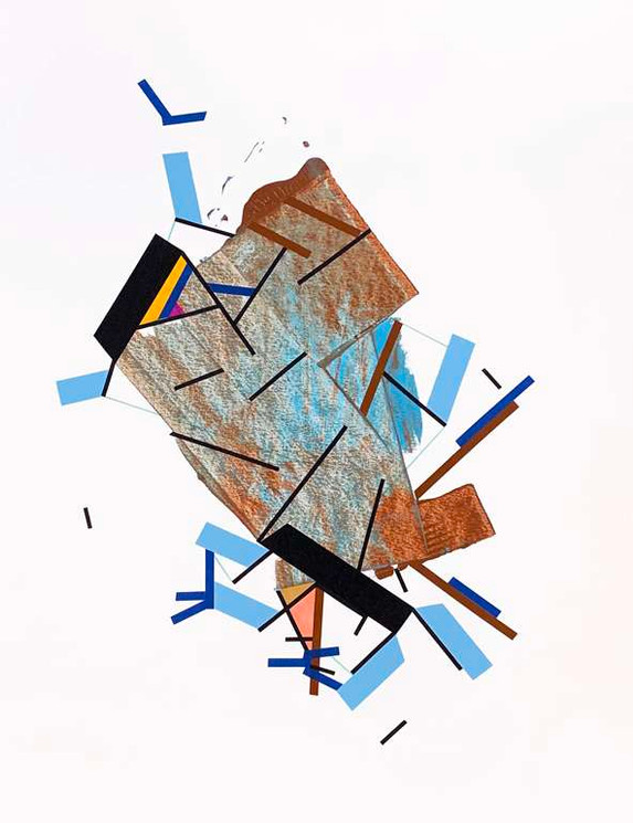 Original painting on paper by Halaburda