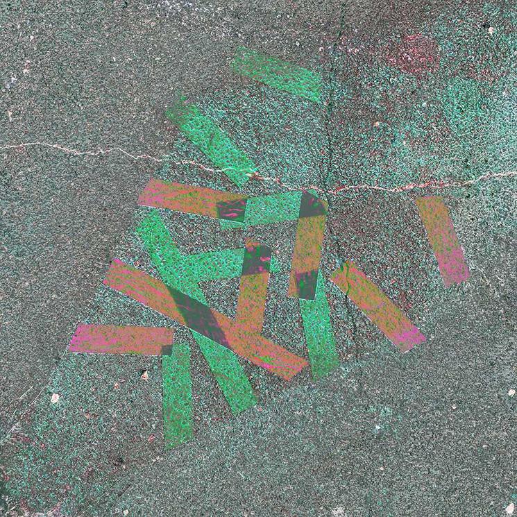 Digital art based on street tape by Halaburda
