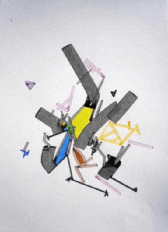 Art on paper Ullnar by Philippe Halaburda