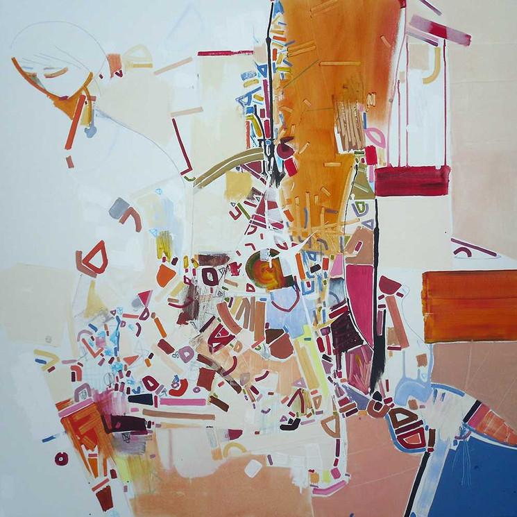 Abstract moves oncanvas by Halaburda