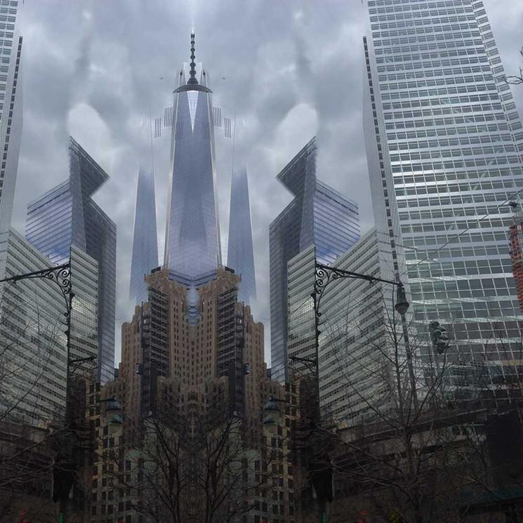 Digital art based on original iPhone photos by Halaburda