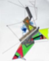 Art on paper Propiion 2 by Philippe Halaburda