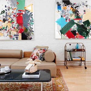 Interior art design for office