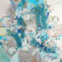 Seascape on canvas by Halaburda 2013