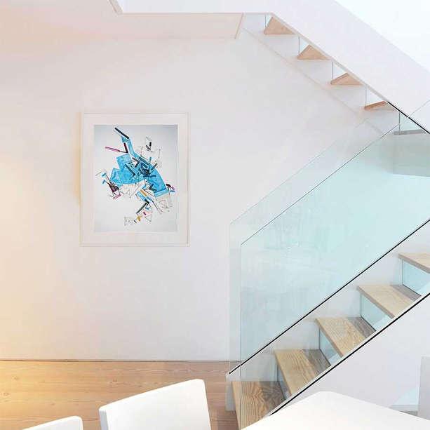 Interior art design for residential