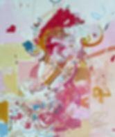 Painting on canvas by Halaburda 2009