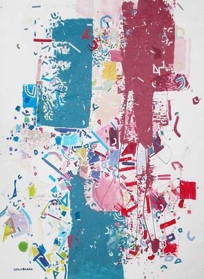 Abstract cognition oncanvas by Halaburda