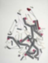 Art on paper Bellegostt 1 by Philippe Halaburda